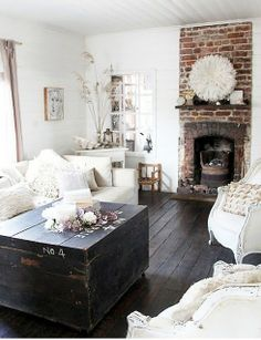 Neutral colors with natural elements <3