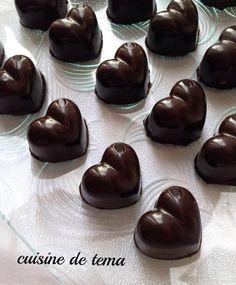 chocolats fourrés au praliné maison Bonjour tout le monde,  Encore une autre recette de chocola...