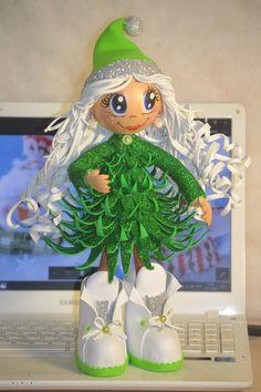Christmas Decorations Sewing, Christmas Sewing, Christmas Projects, Best Christmas Gifts, Christmas Elf, Handmade Christmas, Salt Dough Christmas Ornaments, Dyi Crafts, Beautiful Dolls