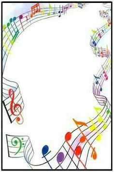 Résultat d'images pour free clip art musical borders transparent Page Boarders, Boarders And Frames, Page Borders Design, Border Design, Music Border, Music Crafts, Borders For Paper, Music Images, Writing Paper