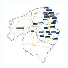 Mapa PSSE