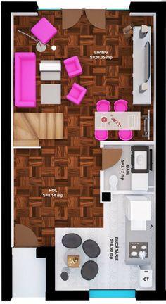 SMARALD VILLA GROUND FLOOR:   PRICE: from EUR 73,900 + 5% VAT Ground Floor, Flooring, Wood Flooring, Floor
