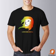 Lion shirt Men Conquering lion t-shirt Rasta shirt 420