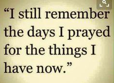 I still remember.