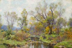 Vose Galleries - Stream by Hugh Bolton Jones