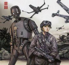 Rogue One - Scarif sketch by Erik-Maell.deviantart.com on @DeviantArt