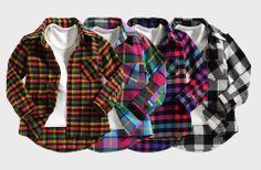 Sound Plaid Shirt - A