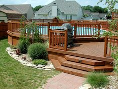 Above Ground Pool Deck Ideas Ceramic Floor