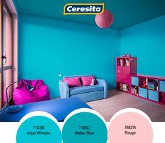 ceresitacl color nias nia habitacin infantil juegos