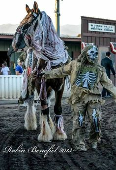 Zombie Horse...photo by Robin Benefiel www.facebook.com/cowboymagic