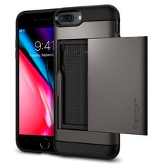 Spigen Rugged Armor Cover iPhone 7 Cover iPhone 8 Assorbimento