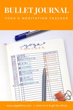 Create a yoga and meditation habit.  Track your progress with a simple bullet journal tracker to see your progress over a month.  Make that habit a permanent one.