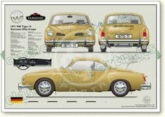 Classic Car News Pics And Videos From Around The World Volkswagen Type 3, Volkswagen Karmann Ghia, Vw Classic, Classic Mercedes, Automobile, Citroen Traction, Best Muscle Cars, Vw Cars, Slot Cars