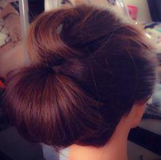 Chignon hair do