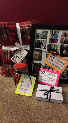 one year anniversary gift ❤️ More…I'd just have to add 10 years to this. L… one year anniversary gift ❤️ More…I'd just have to add 10 years to this. Cute Boyfriend Gifts, Bf Gifts, Noel Gifts, Surprise Boyfriend, Boyfriend Ideas, Boyfriend Presents, Boyfriend Boyfriend, Diy Gifts For Boyfriend Christmas, Craft Gifts