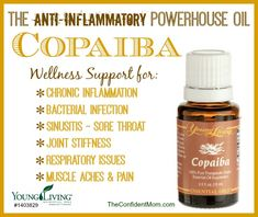 The Confident Mom discusses the uses for Copaiba. #oilyfamilies #youngliving