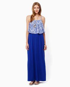 charming charlie | Emi Garden Maxi Dress | UPC: 3000739144 #charmingcharlie