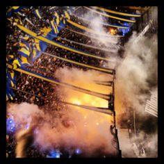 La hinchada de Boca Juniors