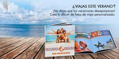 Las vacaciones son un momento ideal para hacer fotos divertidas, originales y en familia, así que no dejes pasar la oportunidad de crear tus recuerdos más veraniegos. ¿Has visto ya nuestros álbumes de verano? Entra en www.lookandremember.com