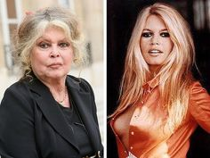Brigitte Bardot~ She may have been one of the biggest sex symbols of the and but the French actress was also a huge activist for animal welfare. Hispanic Actresses, Older Actresses, Brunette Actresses, Black Actresses, Female Actresses, Actors & Actresses, Brigitte Bardot, Celebrities Before And After, Celebrities Then And Now