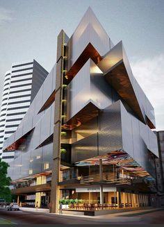 Key Hotel Project İzmir by EKE Architects #turkey