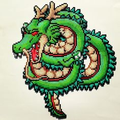 Shenron Dragon Ball perler beads by jamiebabyy25