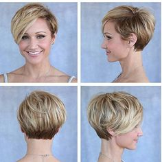 92.Short Hairstyles 2016