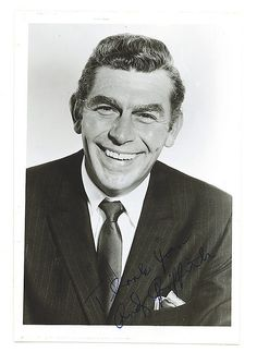 Andy Griffith Autograph