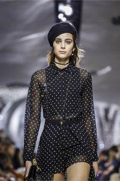 Dots Dots Polka Dots at Dior Spring Summer 2018 PFW.