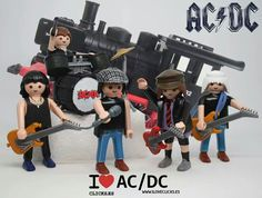 AC DC (and after. the rest). Bon Scott, Brian Johnson, Def Leppard, Music Love, Rock Music, Legos, Phil Rudd, Best Toddler Books, Ac Dc Rock