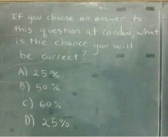 What are your chances?