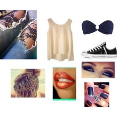 First Day of School by hcocaligirl on Polyvore