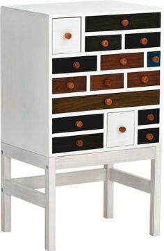 Eine Extravagante Kommode 16 Formschne Schubladen In Trendigen Farbkombinationen Bringen Pep Ihre Jung