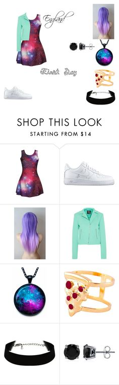 """""""#5"""" by crazibunniz on Polyvore featuring NIKE, McQ by Alexander McQueen, Glenda López and BERRICLE"""