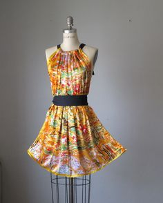 Dress / digital print dresses / WEAR ART   / by AtelierSignature, $49.99