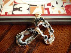 Large Geode Slice Earrings   Orig:  $115  SALE:  **$49.99**    buy.ephphie@gmail.com