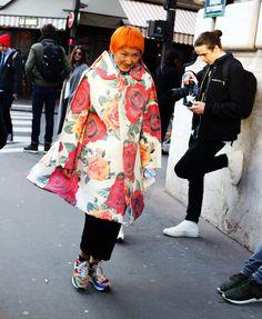 P Ploy In a Comme des Garçons coat ♥️
