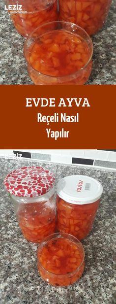 Evde Ayva Reçeli Nasıl Yapılır Tasty, Yummy Food, Confectionery, Homemade, Fruit, Sweet, Desserts, Recipes, Youtube