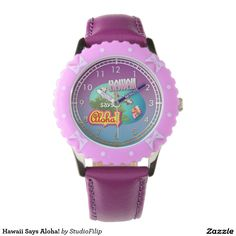 Hawaii Says Aloha! Wristwatch