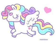 Resultado de imagen para imagenes de unicornio para dibujar a lapiz