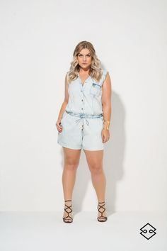 Overall Shorts, Overalls, Plus Size, Elegant, Summer, Women, Fashion, Stuff Stuff, Classy