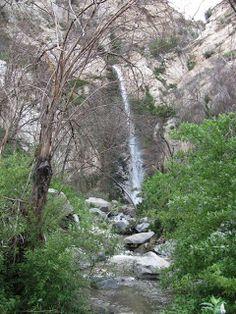 Big Tujunga Canyon Waterfalls