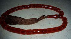 Vintage Antique Old Amber Bakelite Catalin Faturan Prayer Beads Rosary Misbaha | eBay