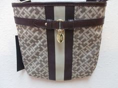 Bag Tommy Hilfiger Handbags Sm XBody 6918384 171 Color Beige Brown Gold #TommyHilfiger #MessengerCrossBody