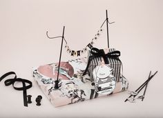 dasuno for Huber & Lerner | christmas wrappingpaper | stefaniefink.com Xmas, Christmas, Do Crafts, Weihnachten, Weihnachten, Yule, Jul, Jul, Natal