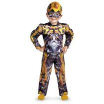 Transformers Age of Extinction - Bumblebee Toddler Muscle Costume Lost Boys Costume, Boy Costumes, Crazy Costumes, Adult Costumes, Costume Ideas, Transformer Halloween Costume, Halloween Costumes For Kids, Transformer Party, Toddler Halloween