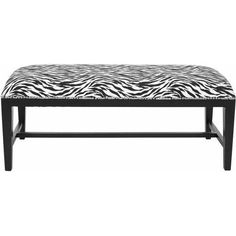 Safavieh Zambia Upholstered Bench, Multiple Colors