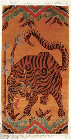TIBETIAN TIGER CARPETS | tibetan-tiger-rugs1