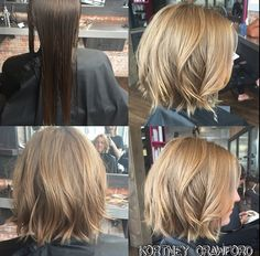 Stylist Kortney Crawford: Before and After, beautiful transformation…