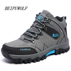 dd87d0a594f Plus Size 39 45 46 47 Brand Hiking Shoes Men Spring Hiking Boots Mountain  Climbing Shoes Outdoor Sport Shoes Trekking Sneakers-in Hiking Shoes from  Sports ...